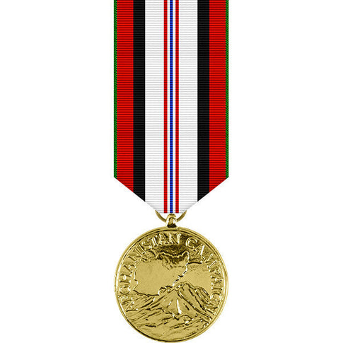 Afghanistan Campaign Anodized Miniature Medal