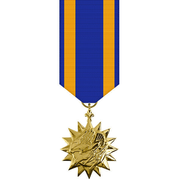Air Medal - Anodized Miniature Medal