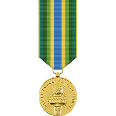 Armed Forces Service Anodized Miniature Medal