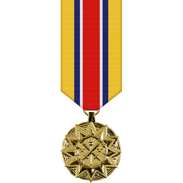 Army Reserve Components Achievement Anodized Miniature Medal