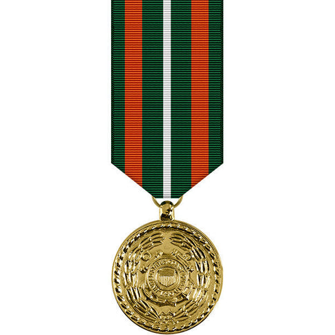 Coast Guard Achievement Anodized Miniature Medal