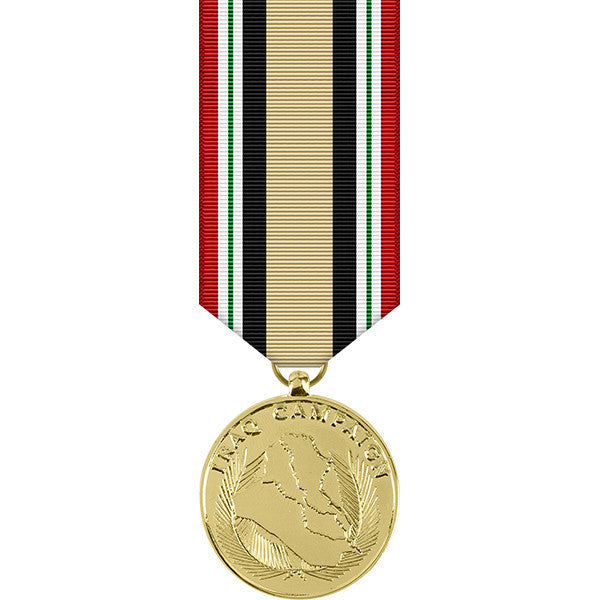 Iraq Campaign Anodized Miniature Medal