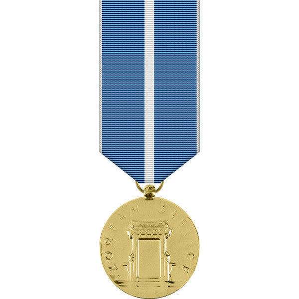Korean Service Anodized Miniature Medal