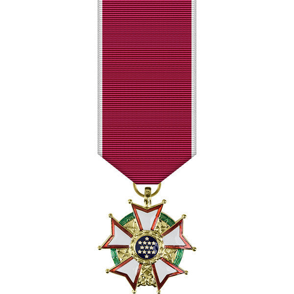 Legion of Merit Anodized Miniature Medal