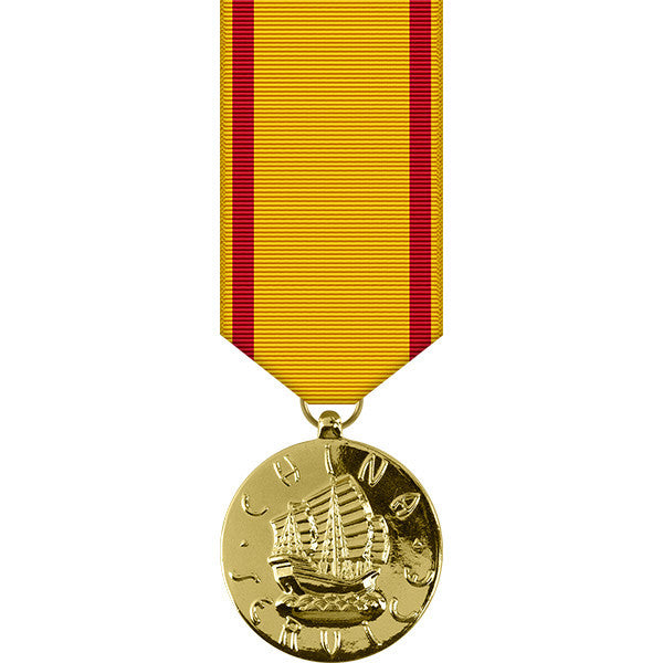 Marine Corps China Service Anodized Miniature Medal