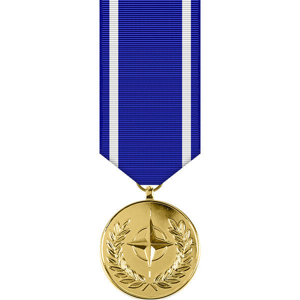 NATO Anodized Miniature Medal