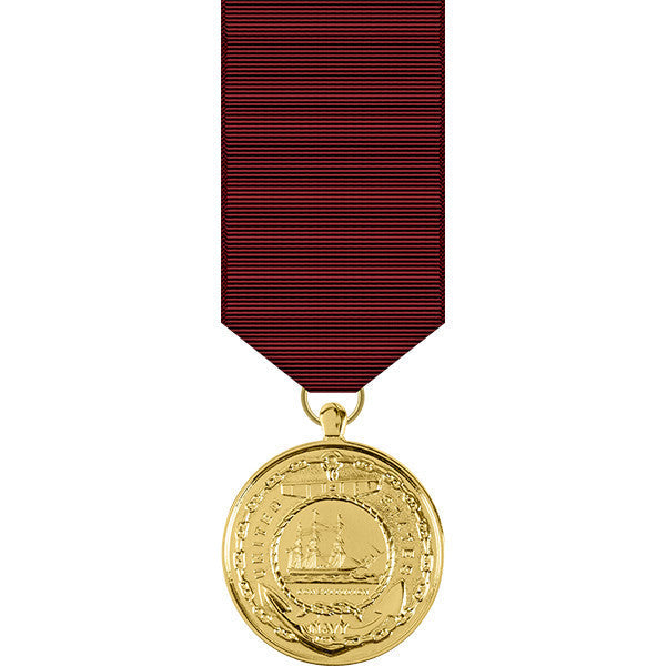 Navy Good Conduct Anodized Miniature Medal