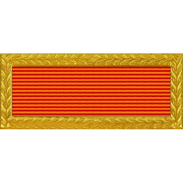 Florida National Guard Governor's Meritorious Unit Citation - Thin Ribbon (with Gold Frame)