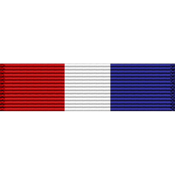 Montana National Guard Distinguished Patriotic Medal Ribbon