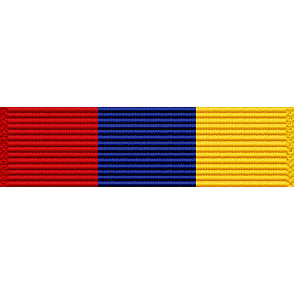 New Jersey National Guard State Service Award Thin Ribbon