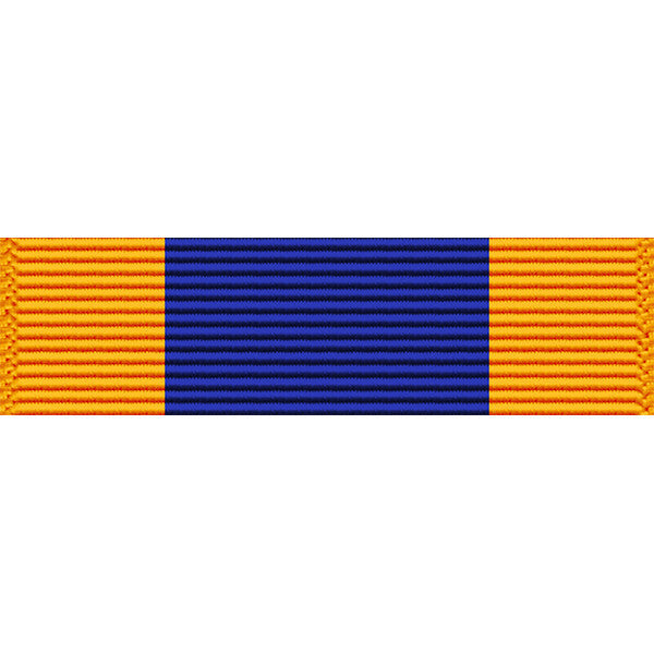 Montana National Guard Service Thin Ribbon