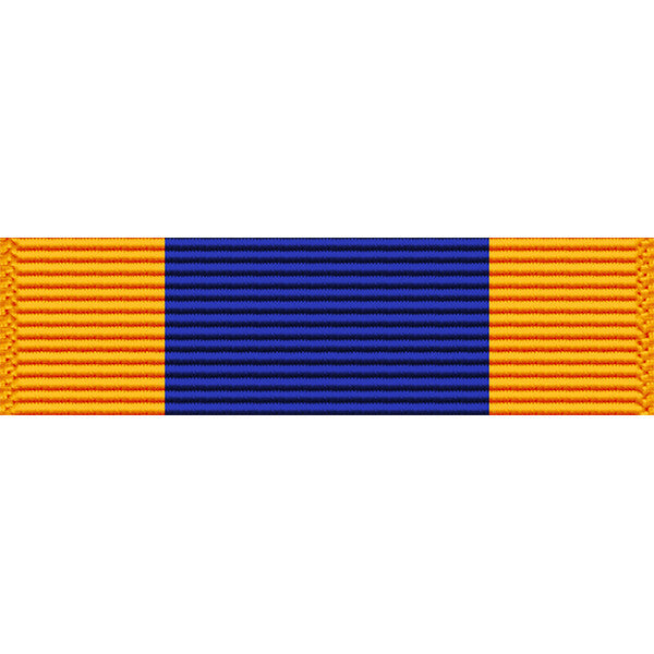 Virgin Islands National Guard Distinguished Service Medal Thin Ribbon