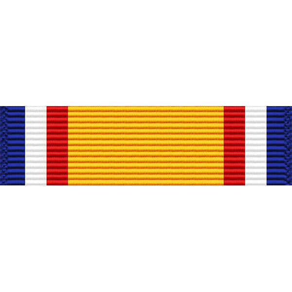 Oklahoma National Guard Distinguished Service Medal Ribbon