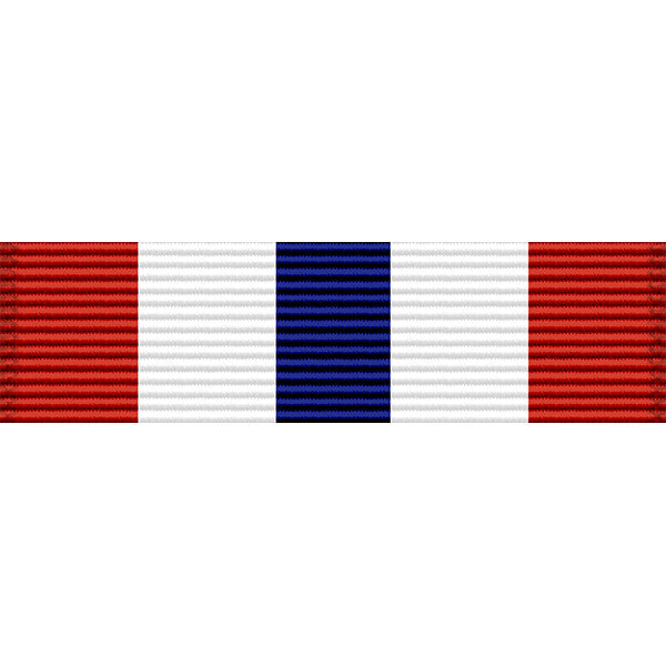 Iowa National Guard State Service Thin Ribbon