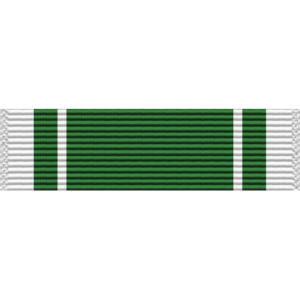 Washington Army Reserve National Guard Commendation Medal Ribbon