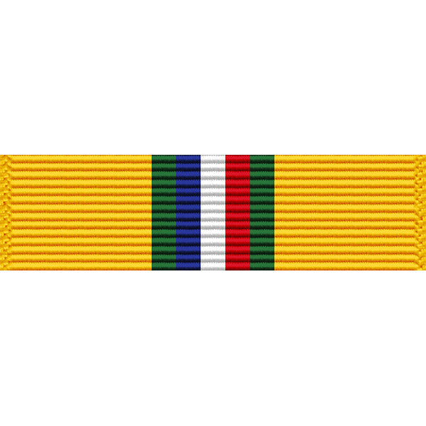 North Dakota National Guard State Outstanding Unit Thin Ribbon