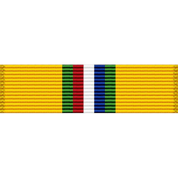 California National Guard Recruiting Achievement Thin Ribbon