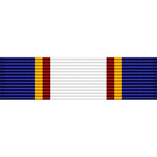 Colorado National Guard Long Service Medal Thin Ribbon