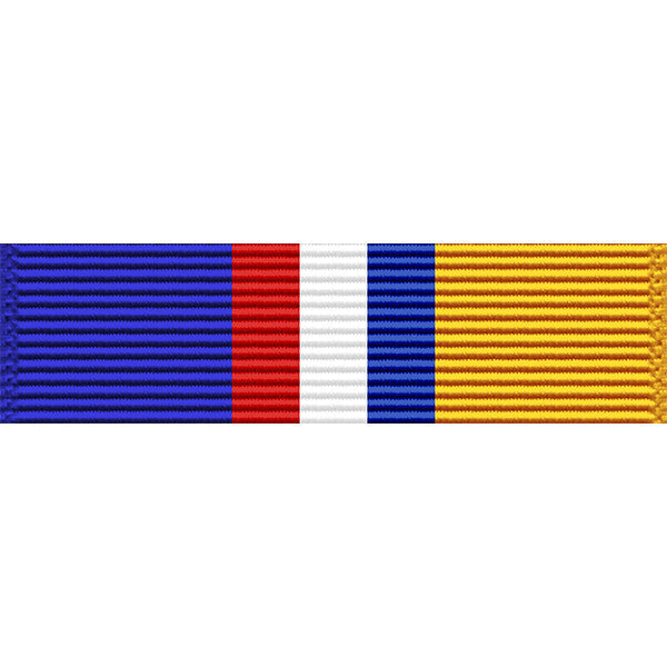 Louisiana National Guard Commendation Medal Thin Ribbon