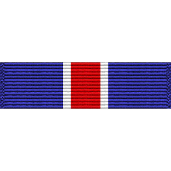 New York National Guard Conspicuous Service Star Medal Thin Ribbon