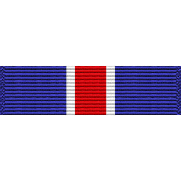 New York National Guard Conspicuous Service Star Medal Ribbon
