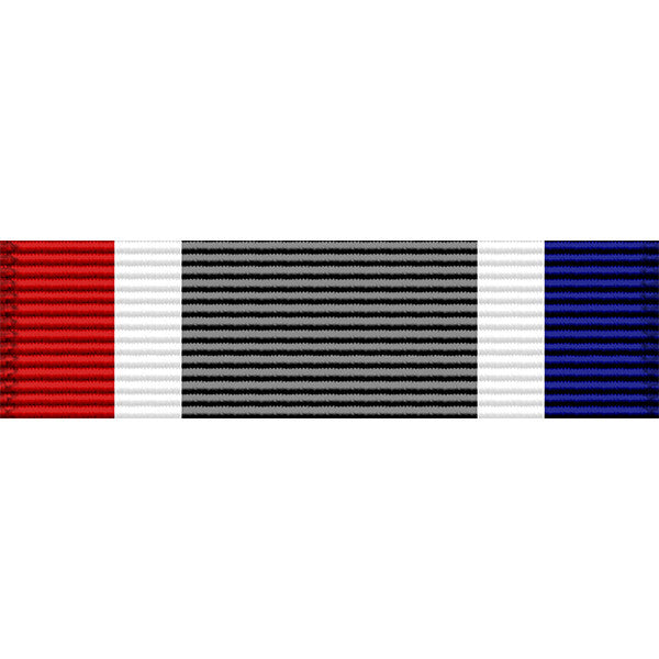 Georgia National Guard 10 Year Service Medal Ribbon