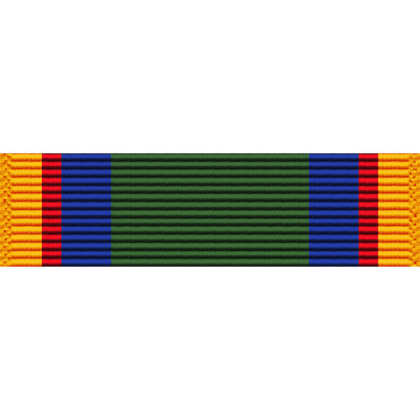 Texas National Guard Federal Service Medal Thin Ribbon