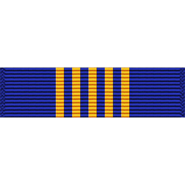 West Virginia National Guard Commendation Medal Ribbon - Thin