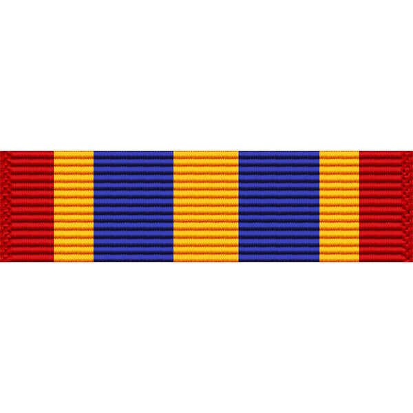 California National Guard Medal of Merit Thin Ribbon