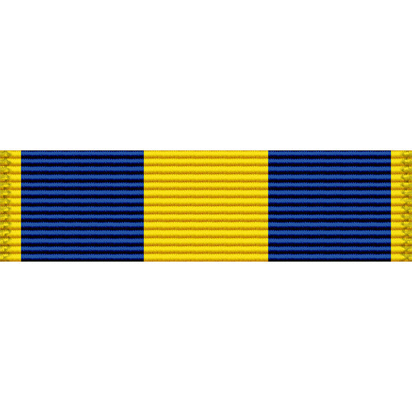 Massachusetts National Guard Humanitarian Service Thin Ribbon