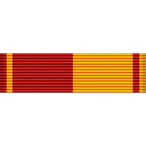 Hawaii National Guard Service Medal Ribbon