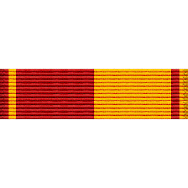 Hawaii National Guard Service Medal Thin Ribbon