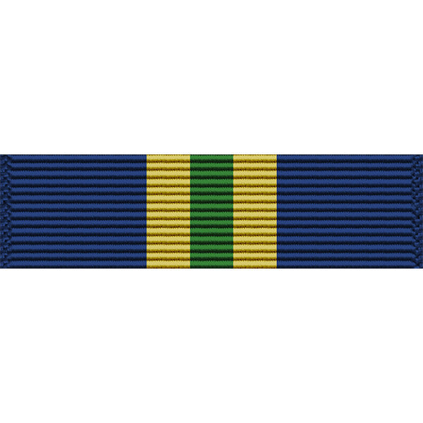 Alaska National Guard State Service Medal Thin Ribbon