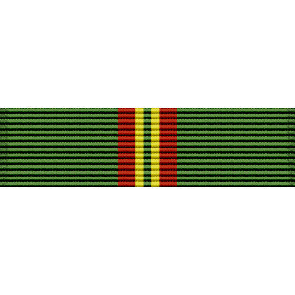 Hawaii National Guard 1968 Federal Service Thin Ribbon