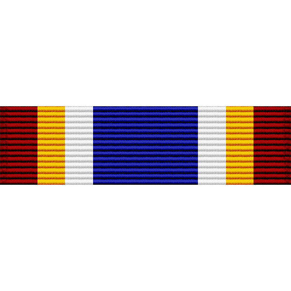 Colorado National Guard Active Service Medal Thin Ribbon