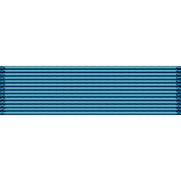 Virgin Islands National Guard Long and Faithful Service Thin Ribbon