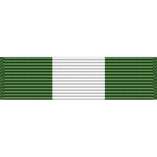 Oklahoma National Guard Long Service (10-Year) Medal Thin Ribbon