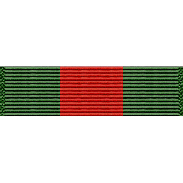Puerto Rico National Guard War Service Thin Ribbon