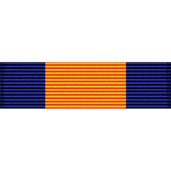 Virgin Islands National Guard Meritorious Service Medal Thin Ribbon