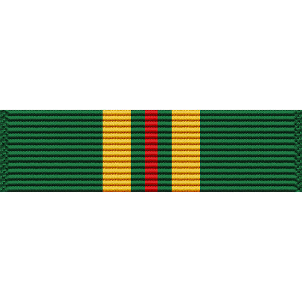 Virgin Islands National Guard Emergency Service Thin Ribbon