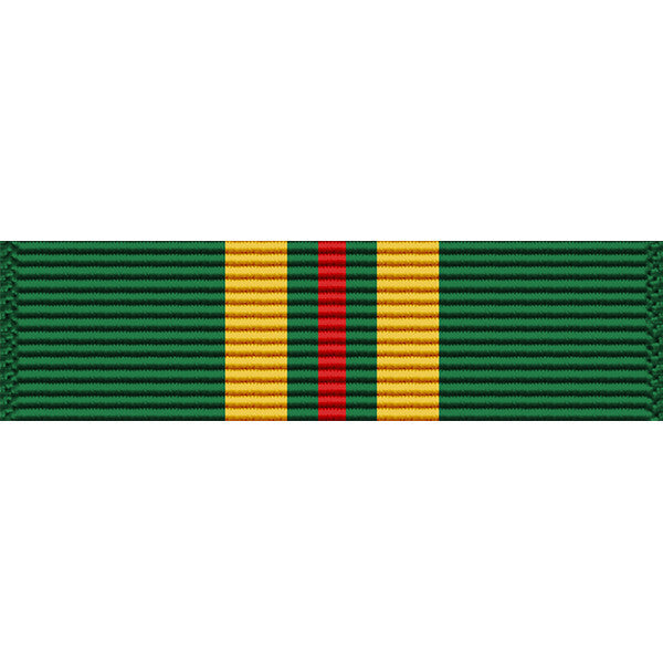 Virgin Islands National Guard Emergency Service Ribbon