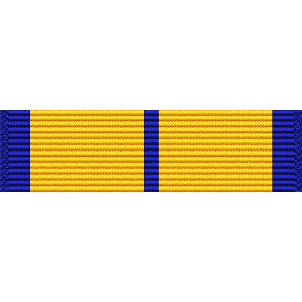 Pennsylvania National Guard Cross for Valor Medal Thin Ribbon