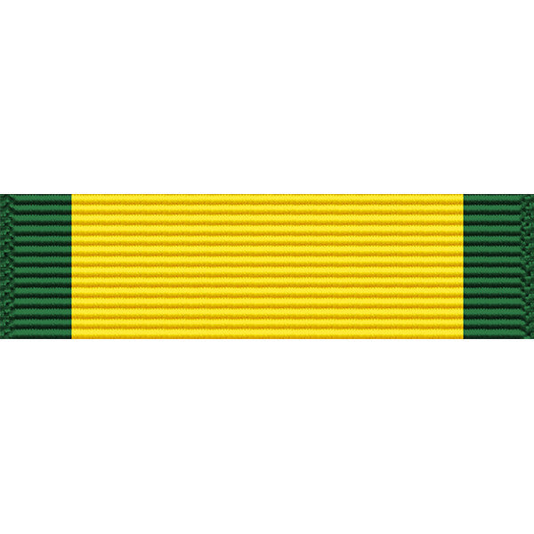 Puerto Rico National Guard Order of the Governor of Puerto Rico Common Defense Service Medal Ribbon