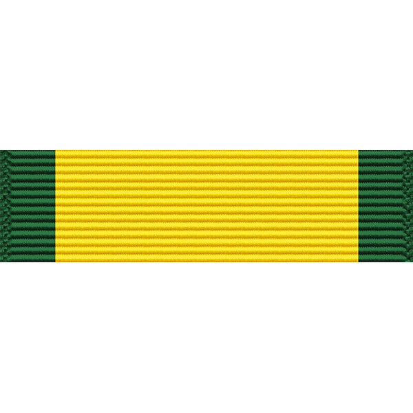 Puerto Rico National Guard Order of the Governor of Puerto Rico Common Defense Service Medal Thin Ribbon