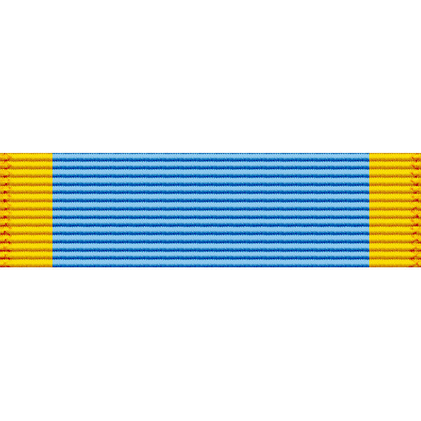California National Guard Order of California Medal Thin Ribbon