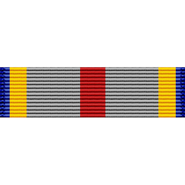 Nevada National Guard Emergency/Humanitarian Service Thin Ribbon