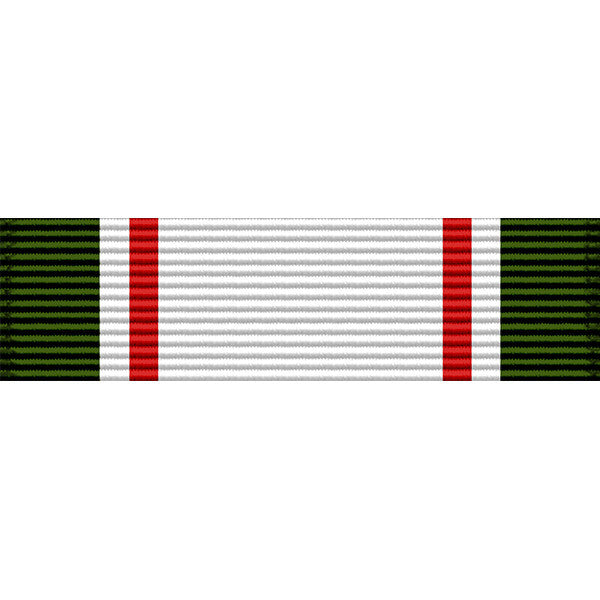 West Virginia National Guard Achievement Medal Thin Ribbon