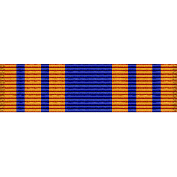 New Jersey National Guard Good Conduct Thin Ribbon