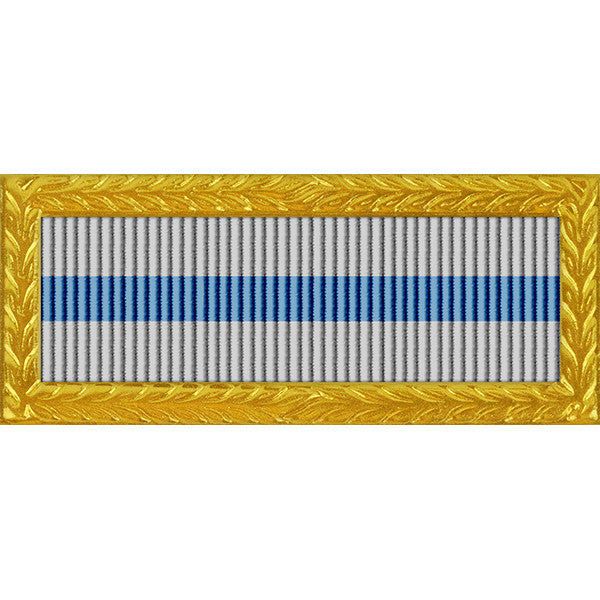 Nevada National Guard Governor's Outstanding Unit Award - Thin Ribbon (with Gold Frame)