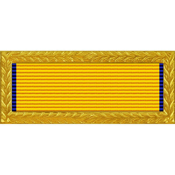New Jersey National Guard Governors Unit Award - Thin Ribbon (with Gold Frame)